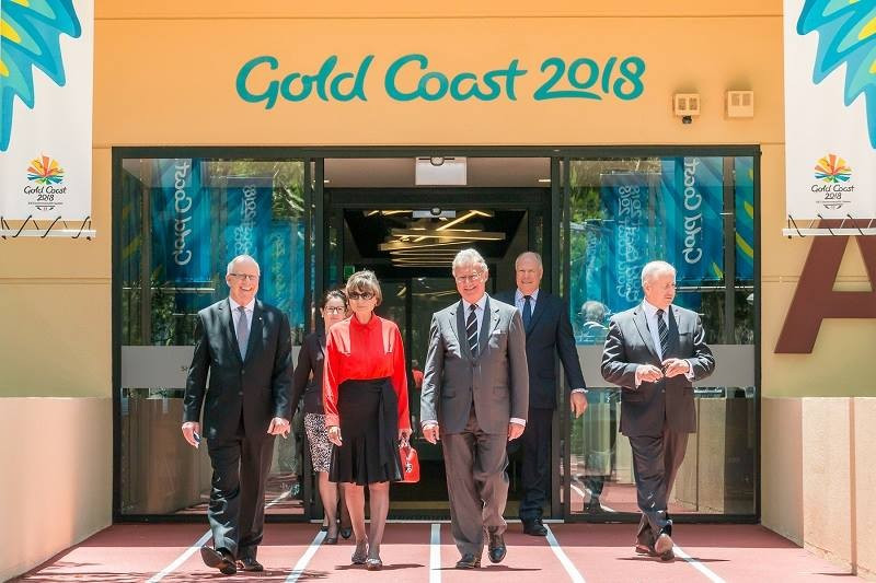 Gold Coast 2018 show off new headquarters