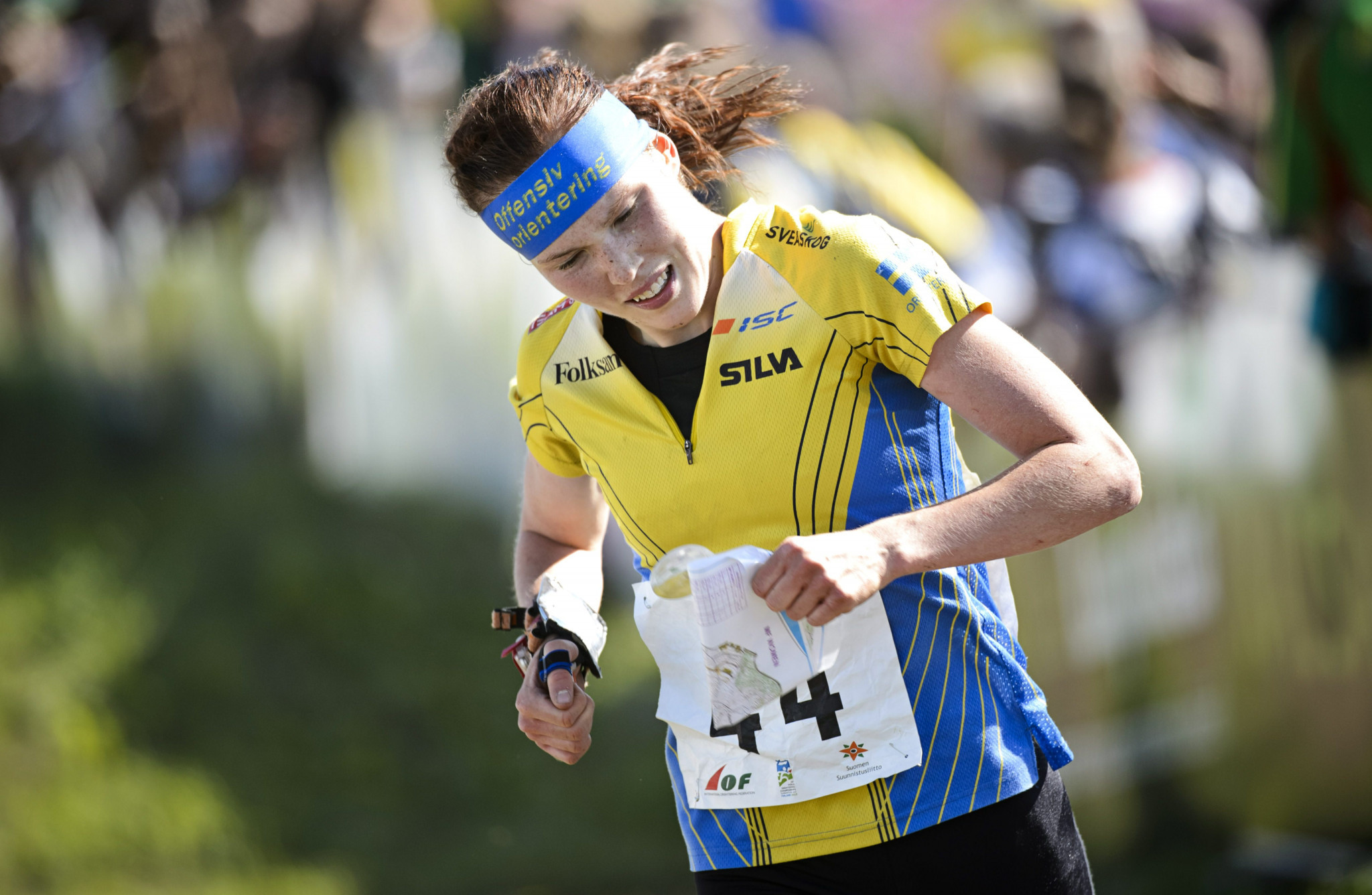 Sweden's Tove Alexandersson remains unbeatable as she won her fifth straight 2019 Orienteering World Cup event ©Getty Images