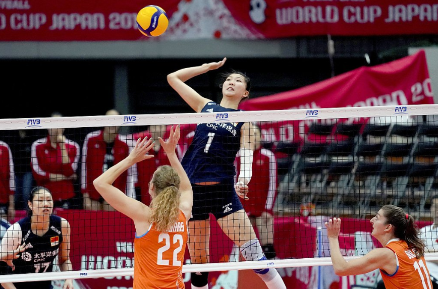 China continue to fly high at the World Cup ©CGTN