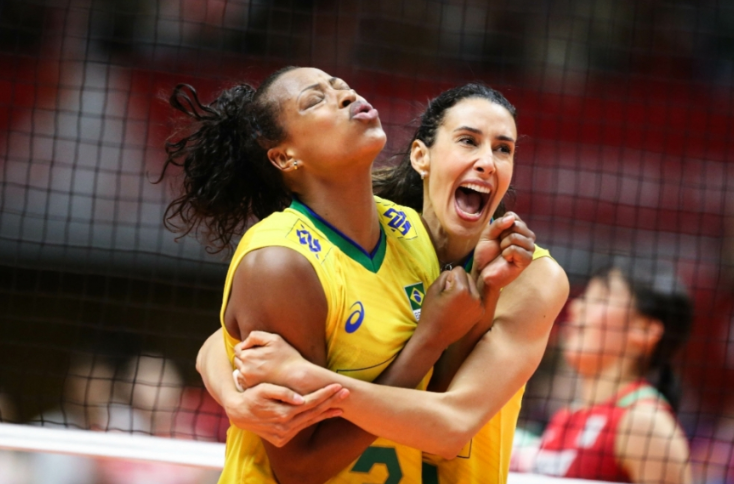 Brazil have been hugely competitive at this World Cup ©FIVB