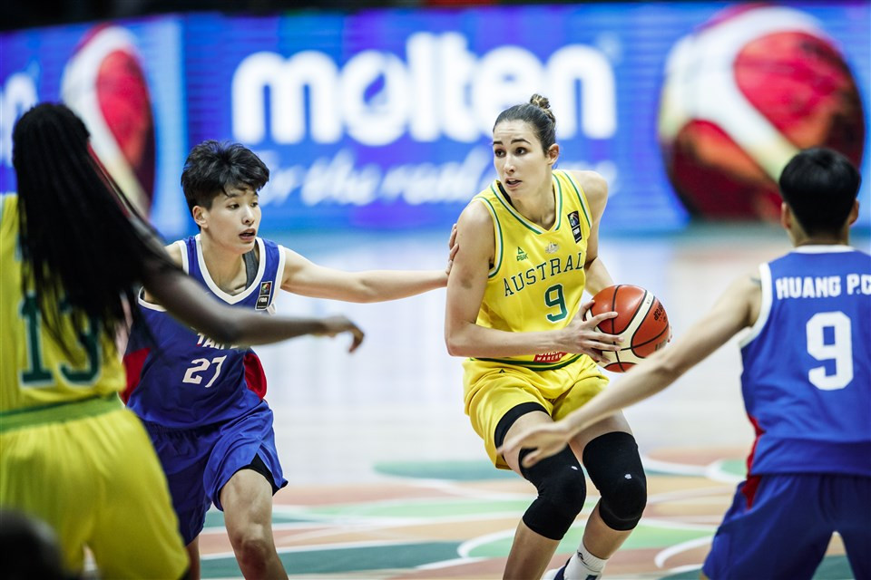 Australia and South Korea progress to FIBA Women's Asia Cup semi-finals