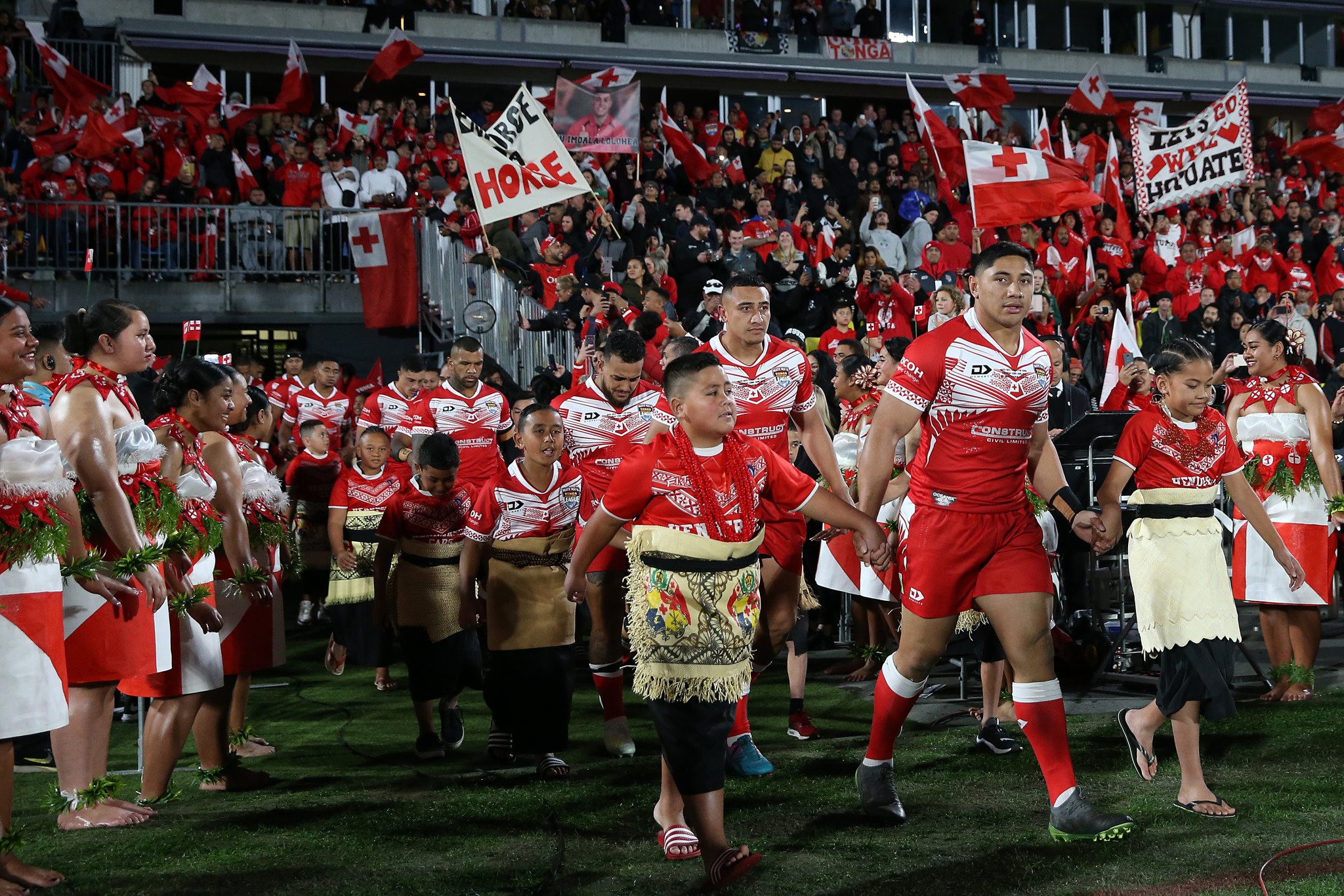 Tonga's rugby league team have competed with the best in recent seasons and have a fervent home support ©Getty Images