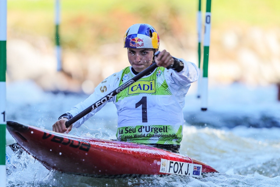 Fox continues C1 domination at Canoe Slalom World Championships