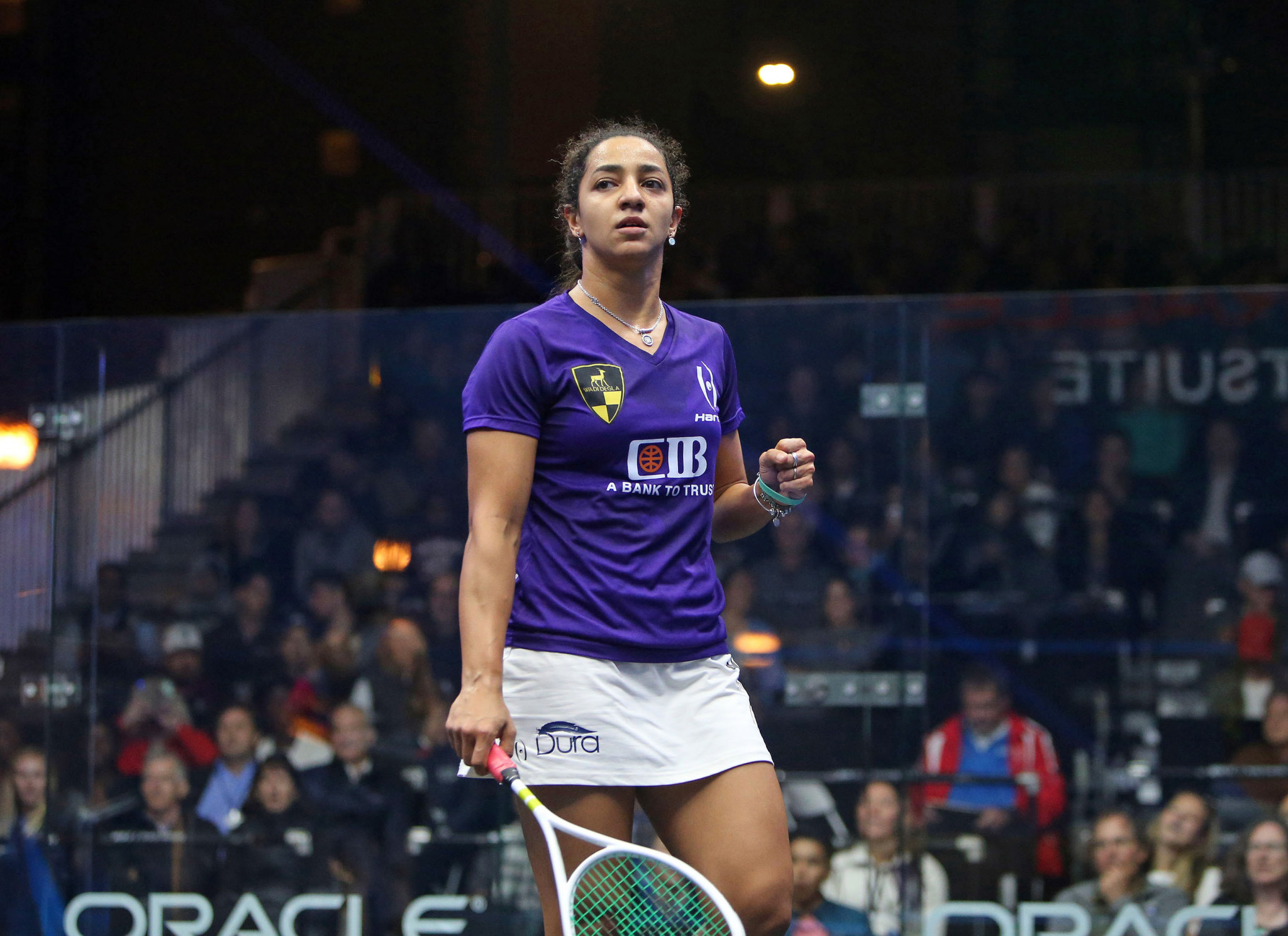 World number one El Welily ends Perry's run at Oracle NetSuite Open