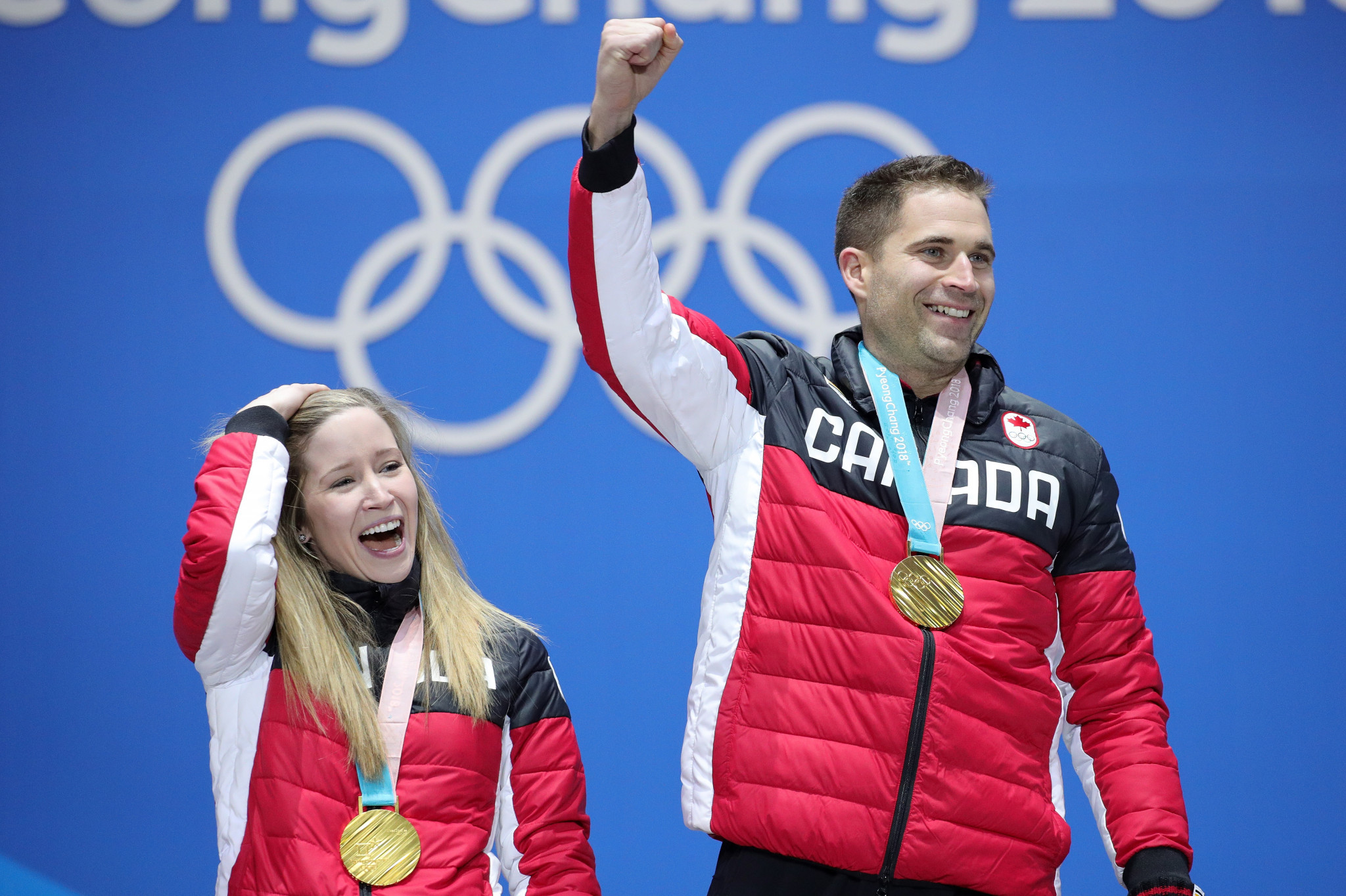 Curling Canada released its Beijing 2022 qualification criteria for teams and mixed doubles, having won the Olympic gold medal in the latter event at Pyeongchang 2018 ©Getty Images