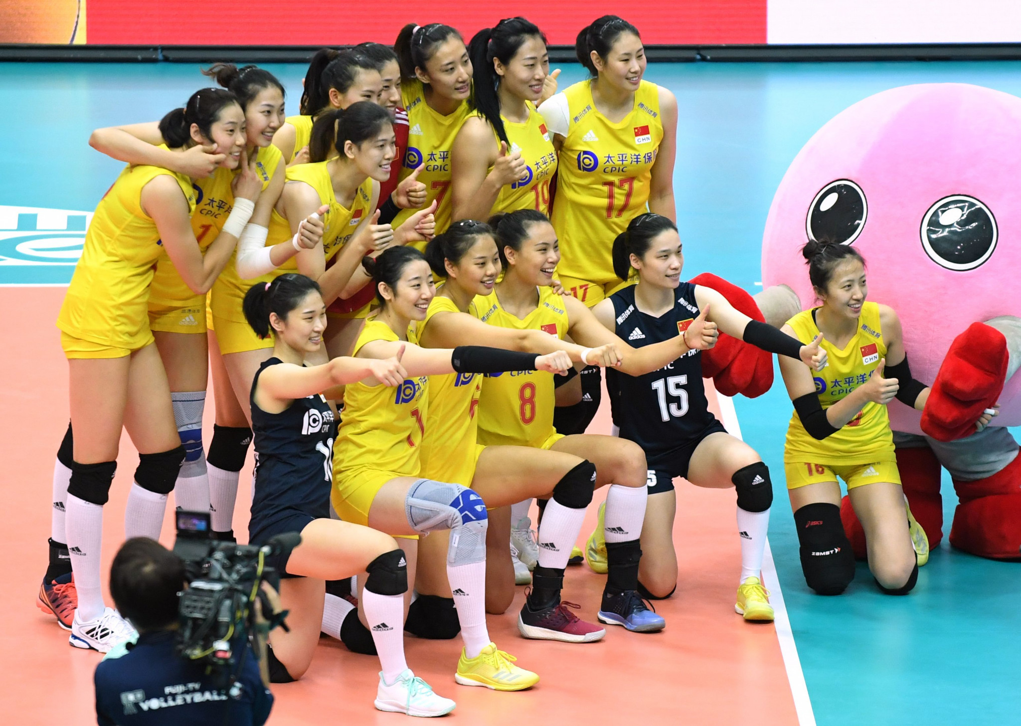 Fivb Women S Volleyball World Cup Glory For China