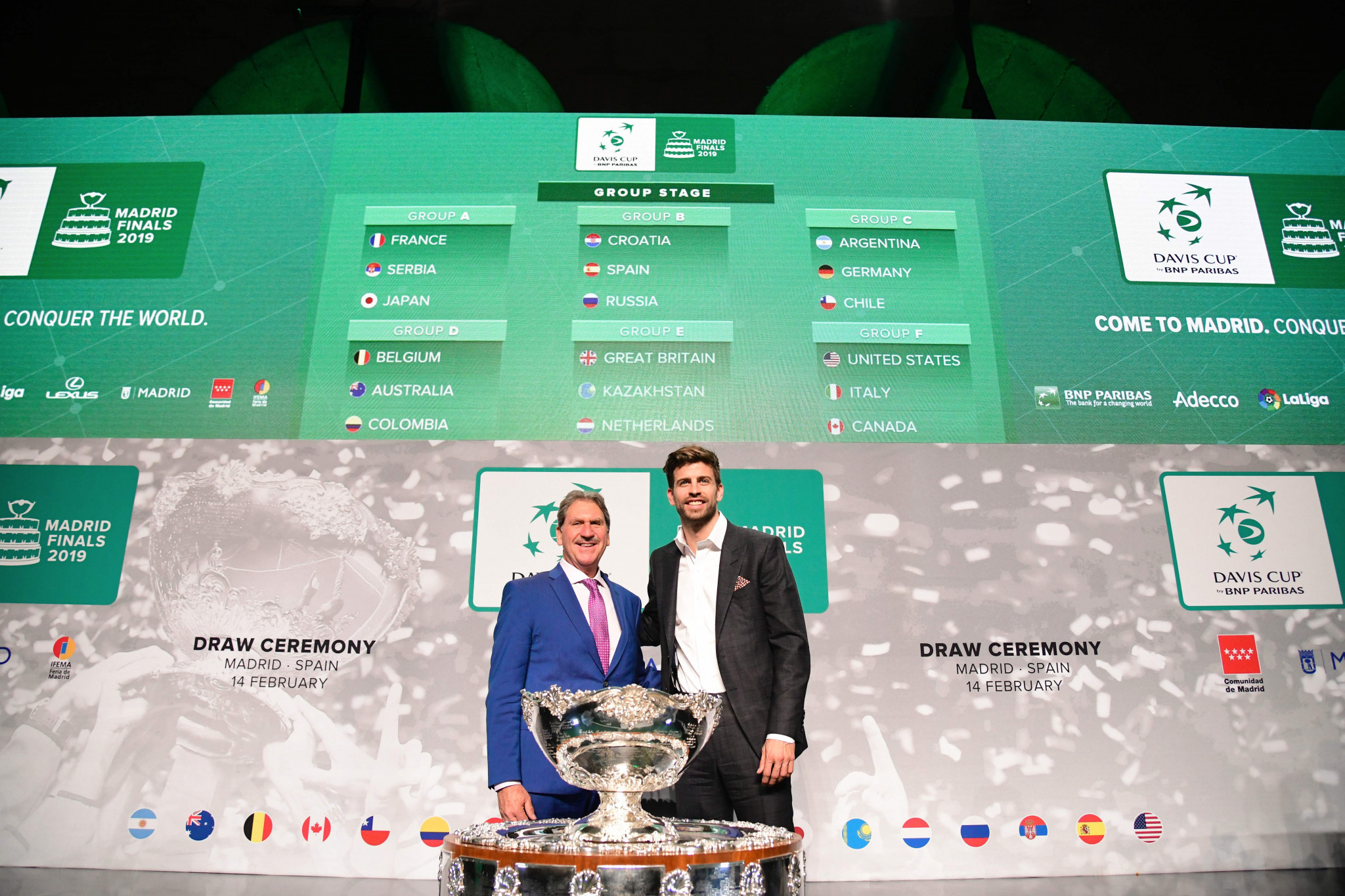 Changes to the Davis Cup were introduced during David Haggerty's first term as ITF President ©Getty Images