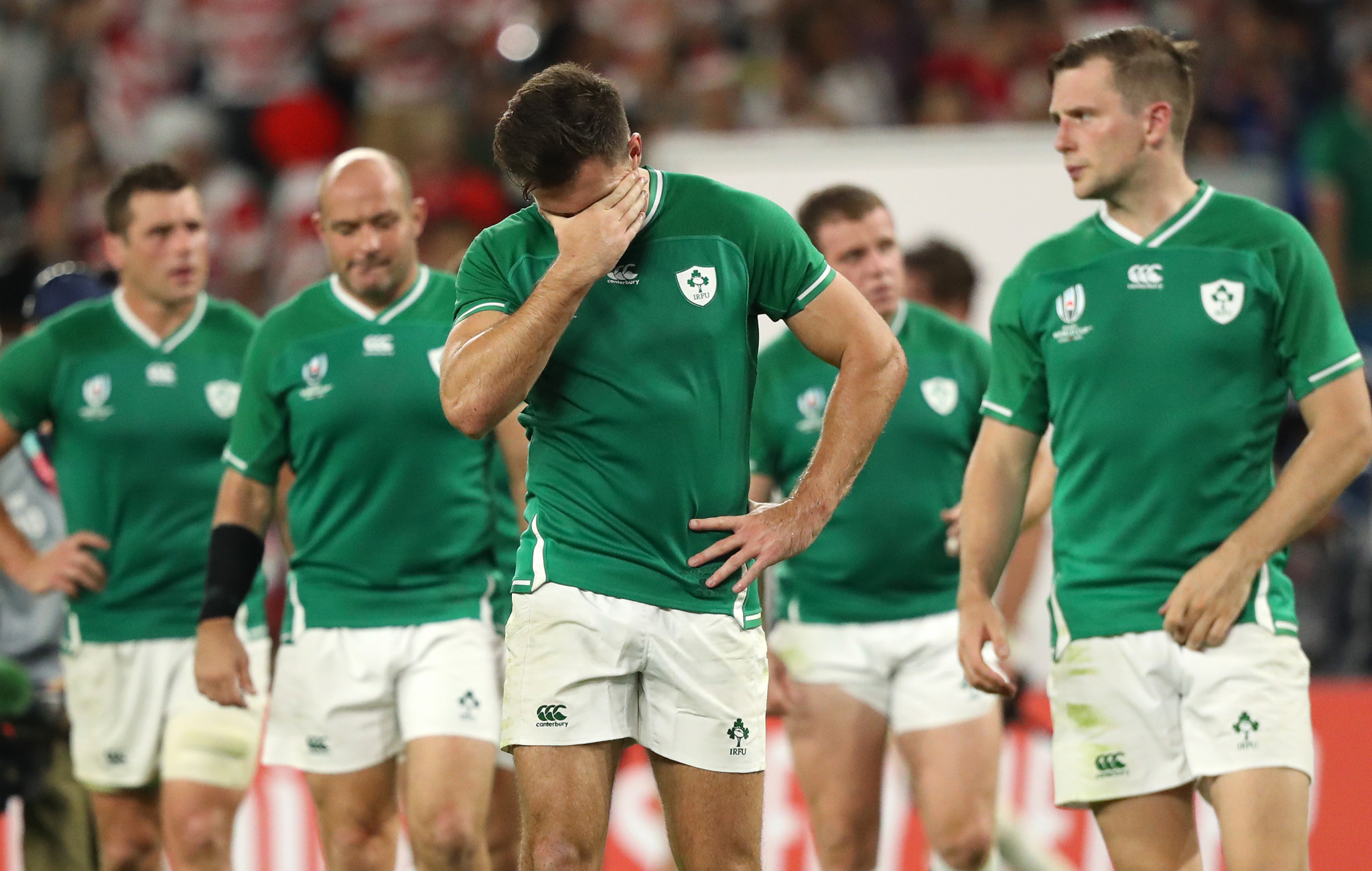 Strongly fancied at the beginning of the tournament, it will take a lot for Ireland to come back from this defeat ©Getty Images