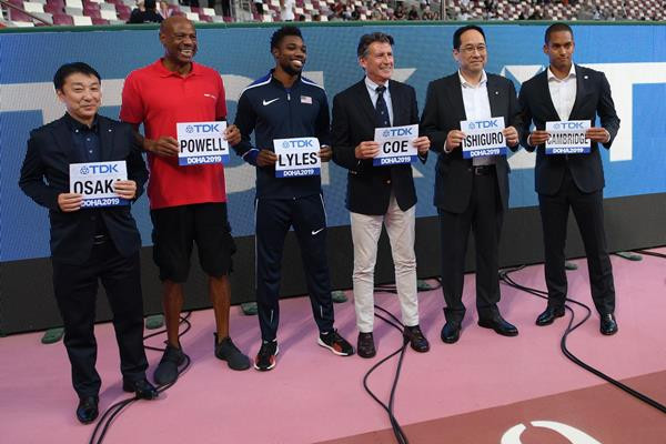 IAAF continue 36-year deal with TDK Corporation as Asia proves lucrative market for sponsors