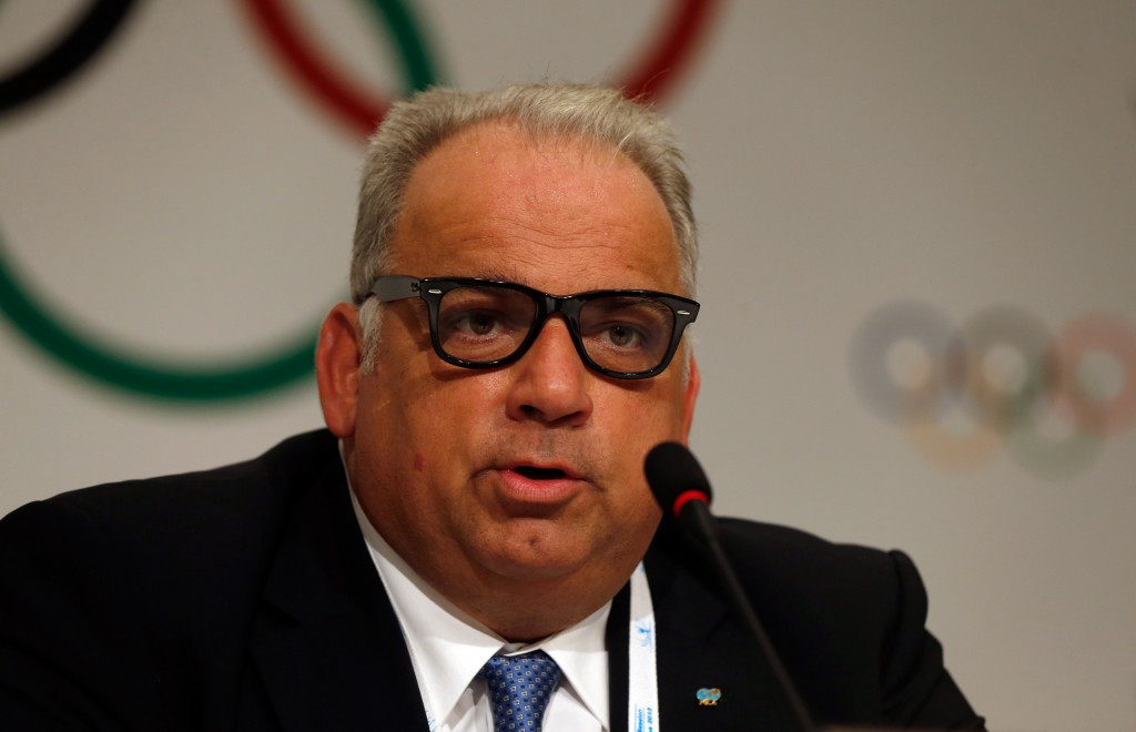 UWW President and IOC member Nenad Lalovic was in attendance at the demonstration
