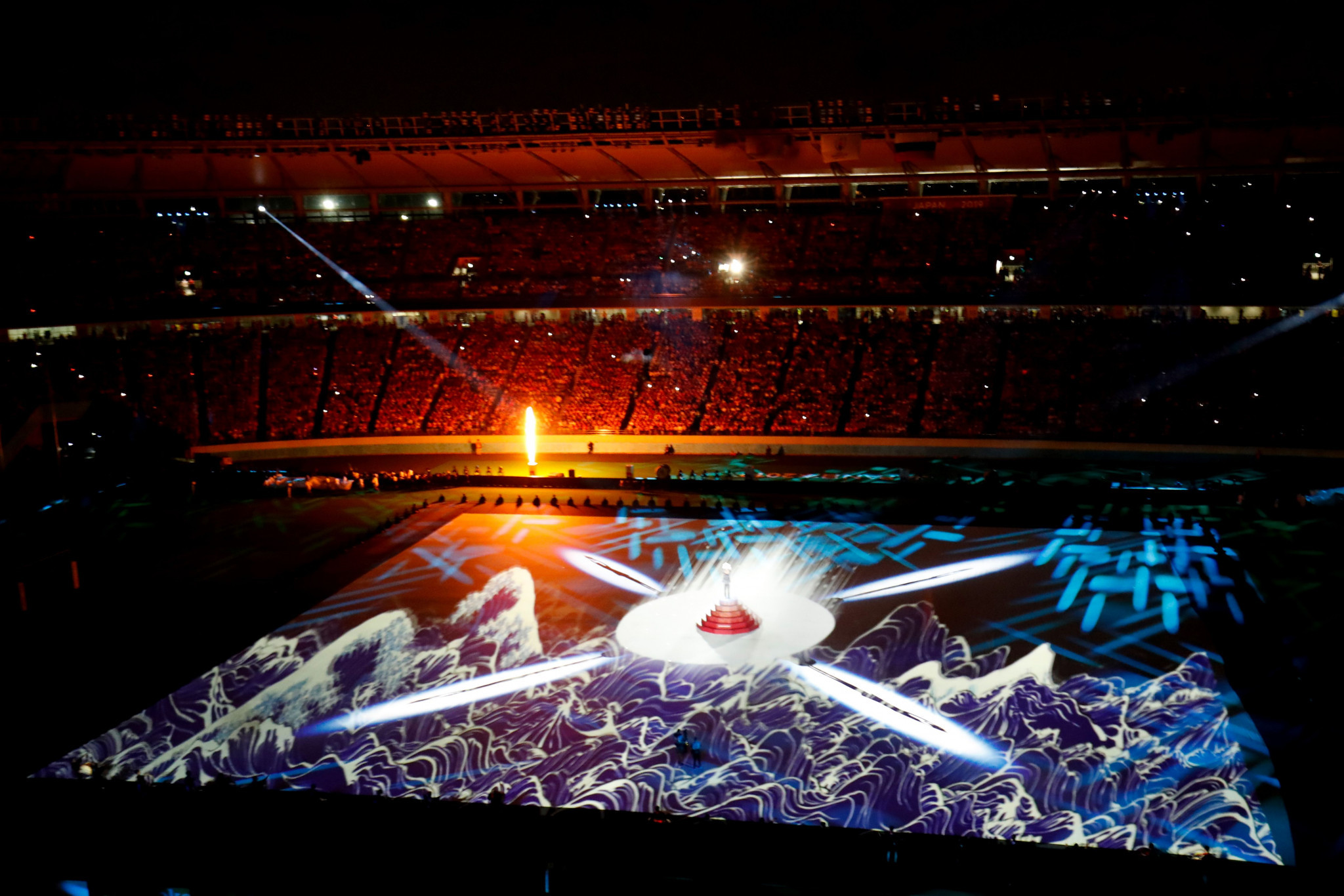 From the Opening Ceremony to the first few games, Rugby World Cup is already breaking viewing records ©Getty Images