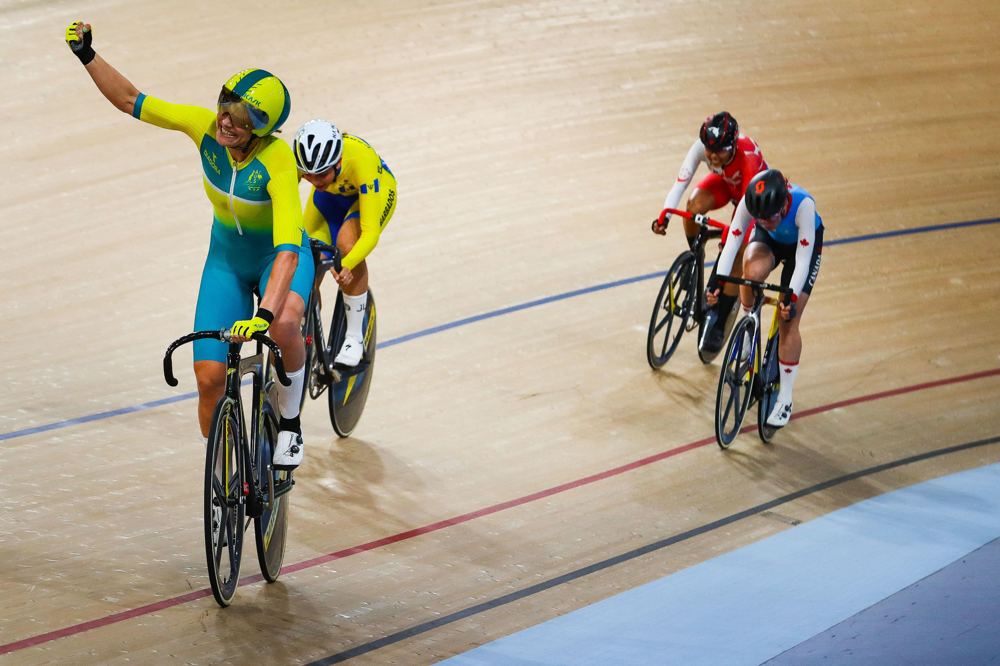 The Anna Meares Velodrome hosted competition at last year's Commonwealth Games ©Getty Images