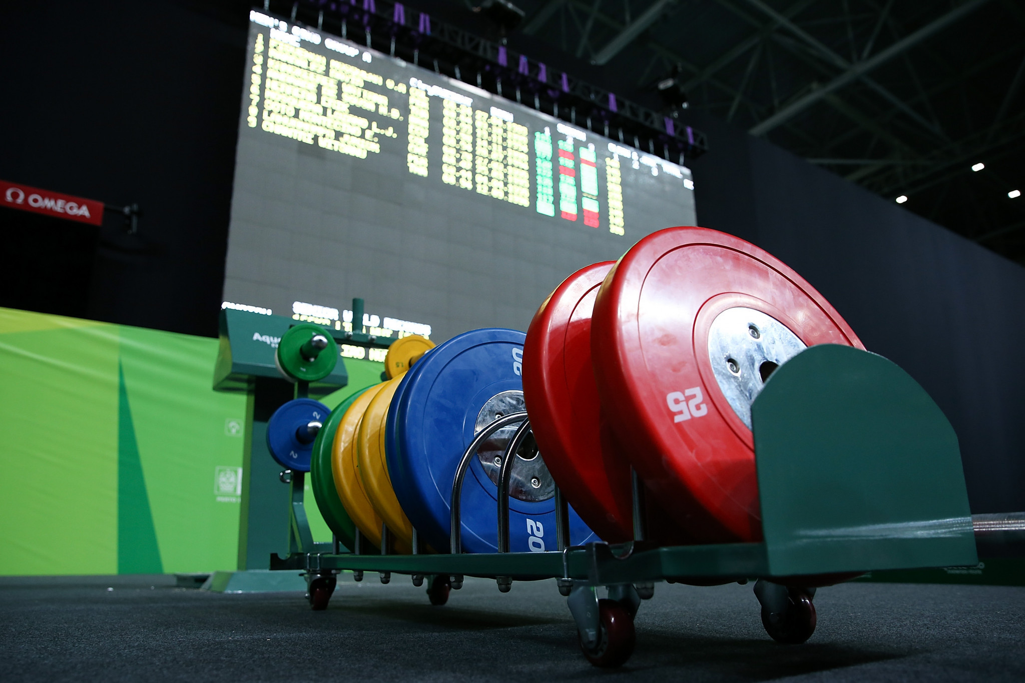 Weightlifting has been restored to the Olympic schedule for the foreseeable future ©Getty Images