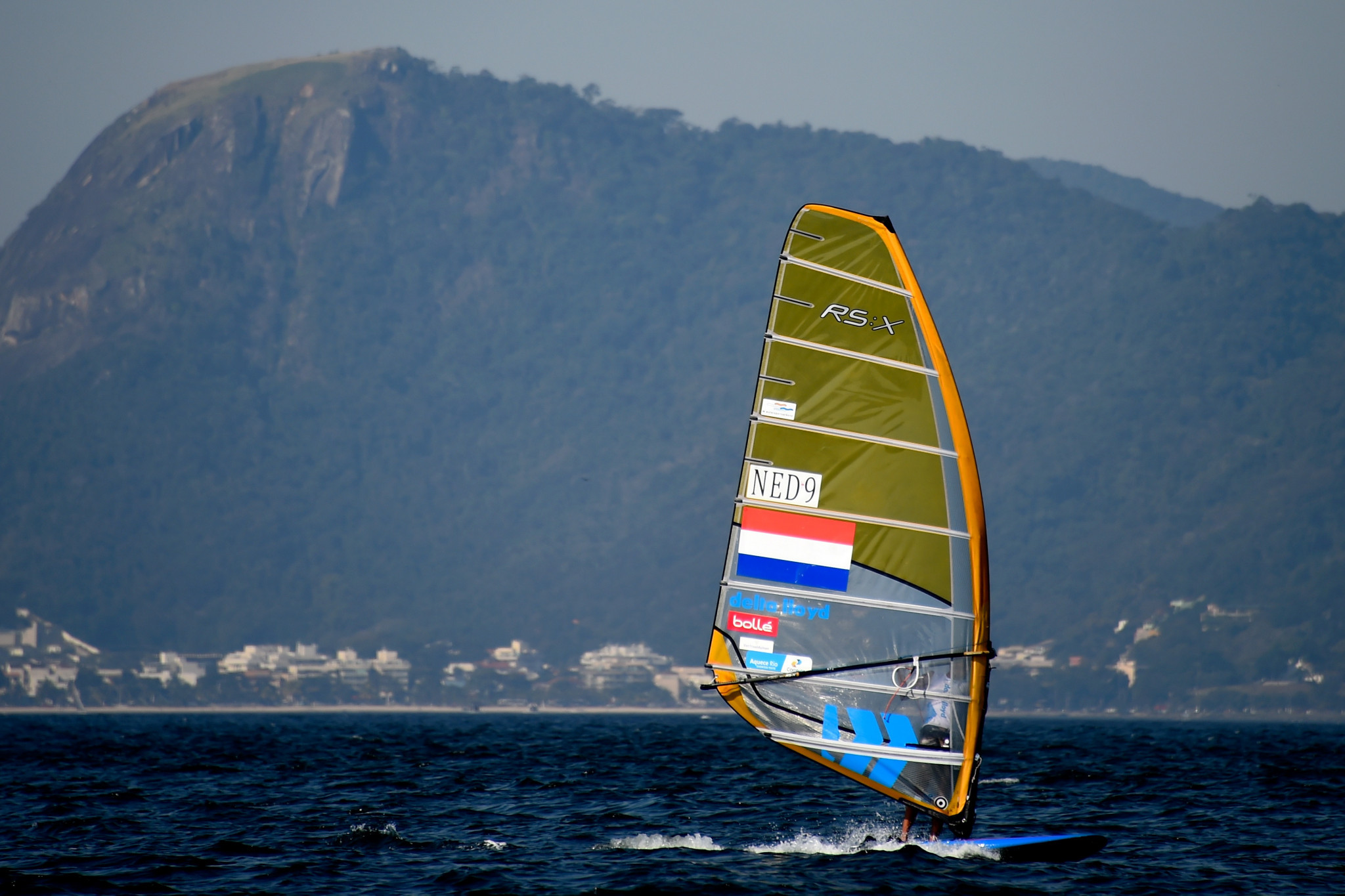 Dutch sailor Kiran Badloe won the men's event at the RS:X World Championships in Torbole ©Getty Images