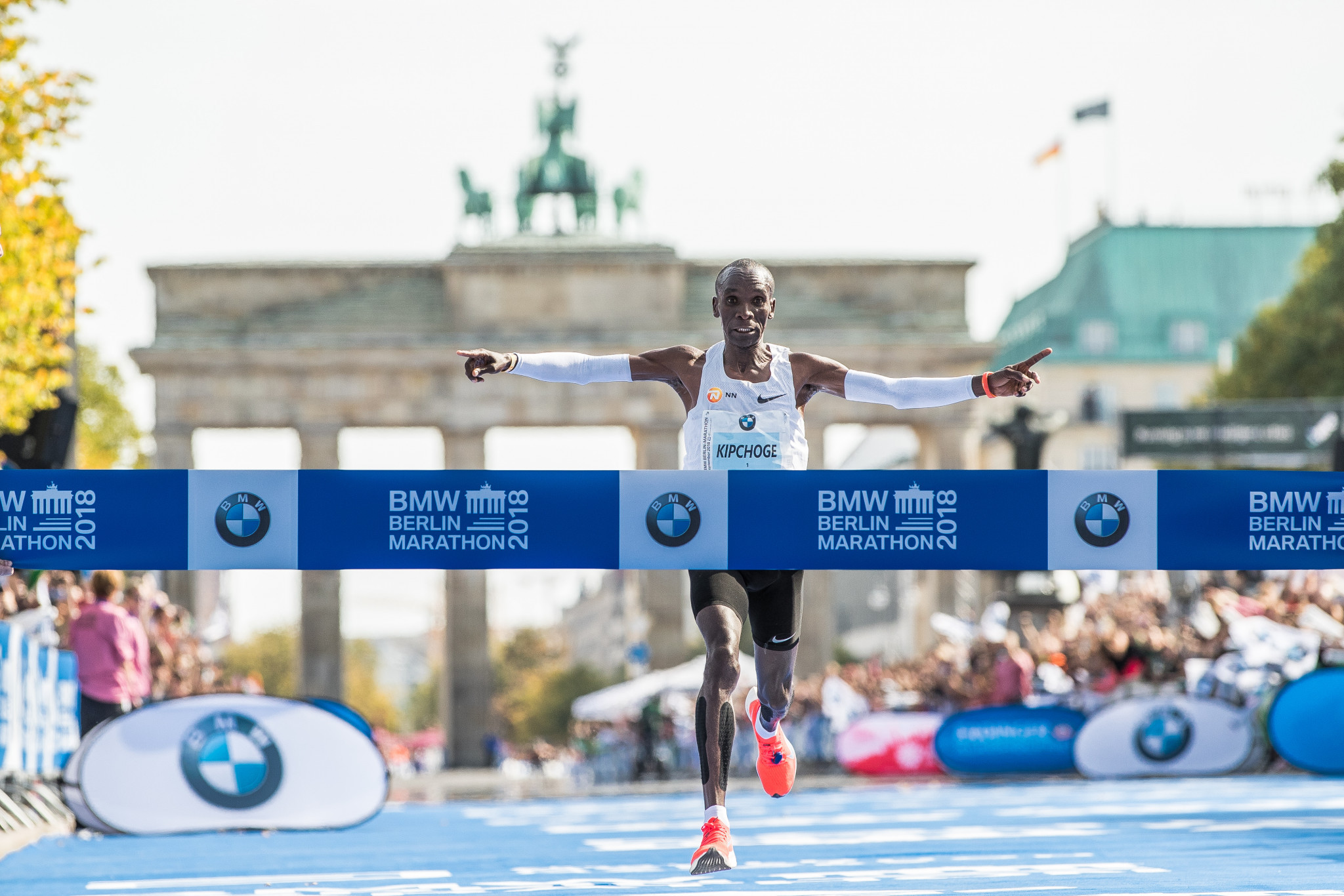 Marathon world record holder Eliud Kipchoge is among Kenya's best hopes for a gold medal in Tokyo ©Getty Images