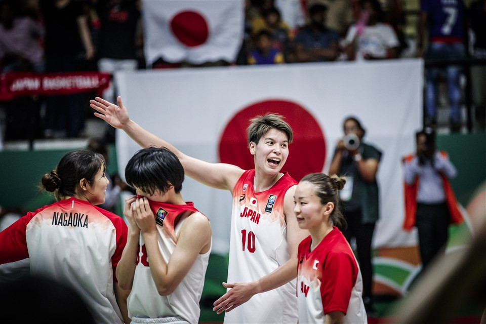 Japan continued their campaign for a fourth successive FIBA Asia Cup title with a win over New Zealand ©FIBA
