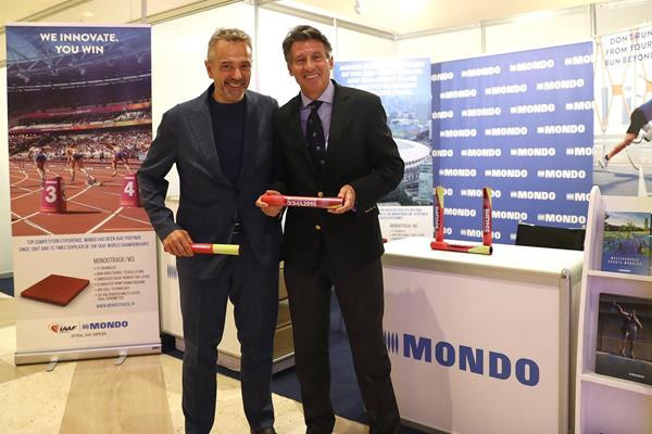 Mondo sign new five-year deal with IAAF to supply tracks for major events