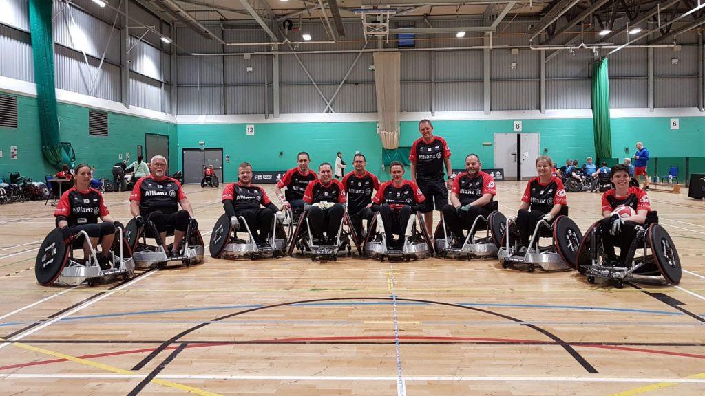 European champions Saracens launch wheelchair rugby club