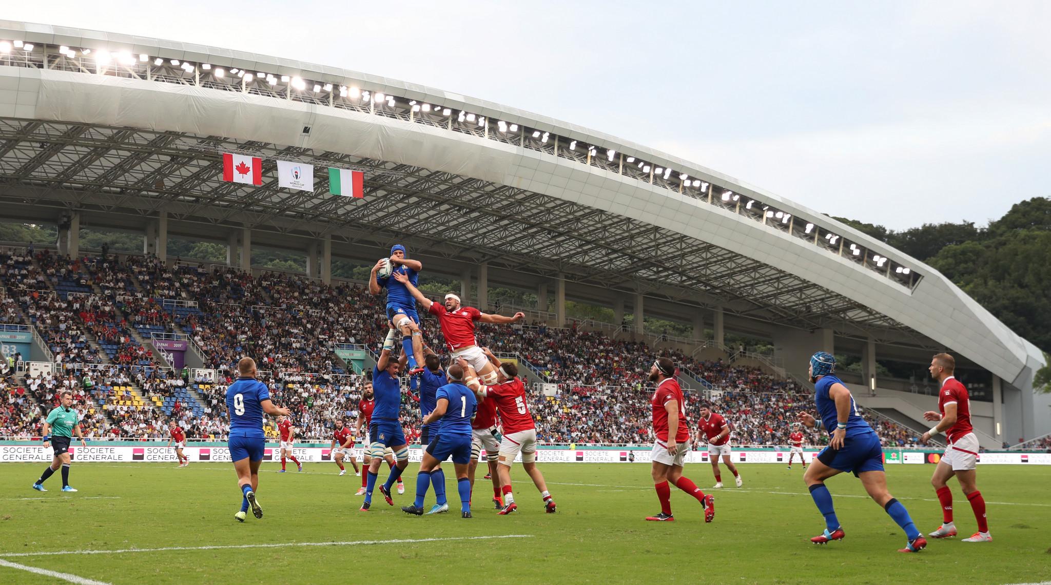 Fukuoka Hakatanomori Stadium is due to host the two sides on Wednesday ©Getty Images