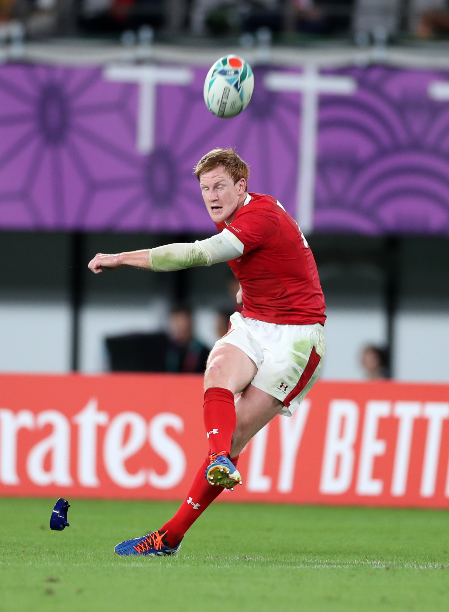 Rhys Patchell impressed from the kicking tee as Wales held off an Australian comeback ©Getty Images