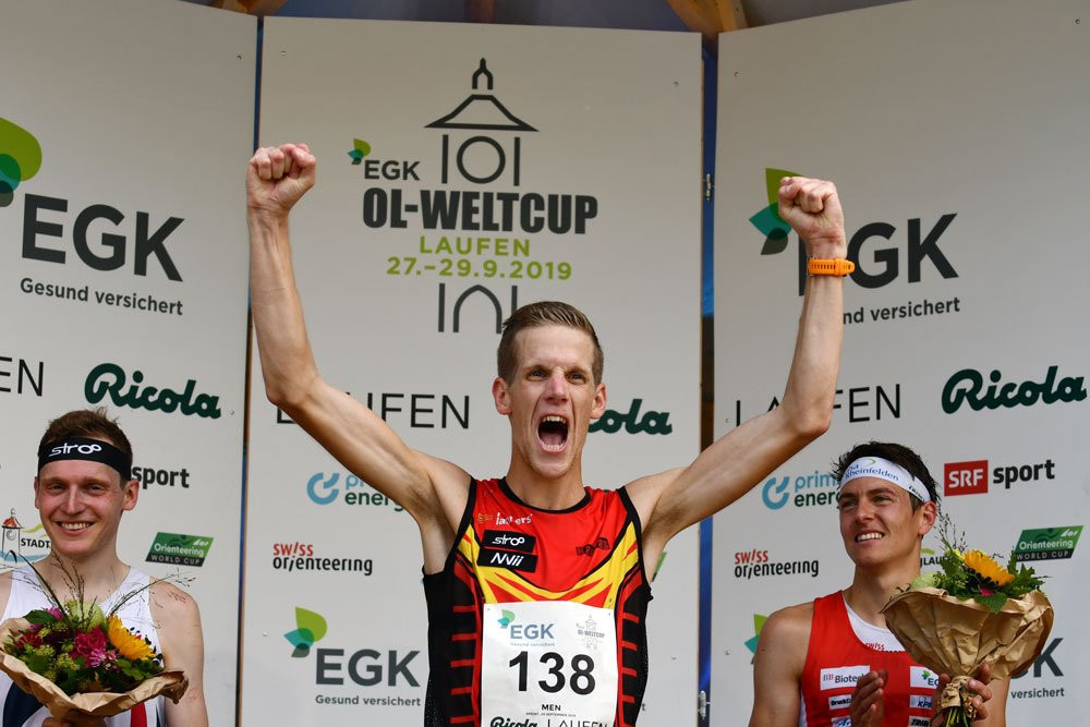 Belgium's Yannick Michiels took a surprise victory in the men's race as the usual front-runners failed to impress ©IOF