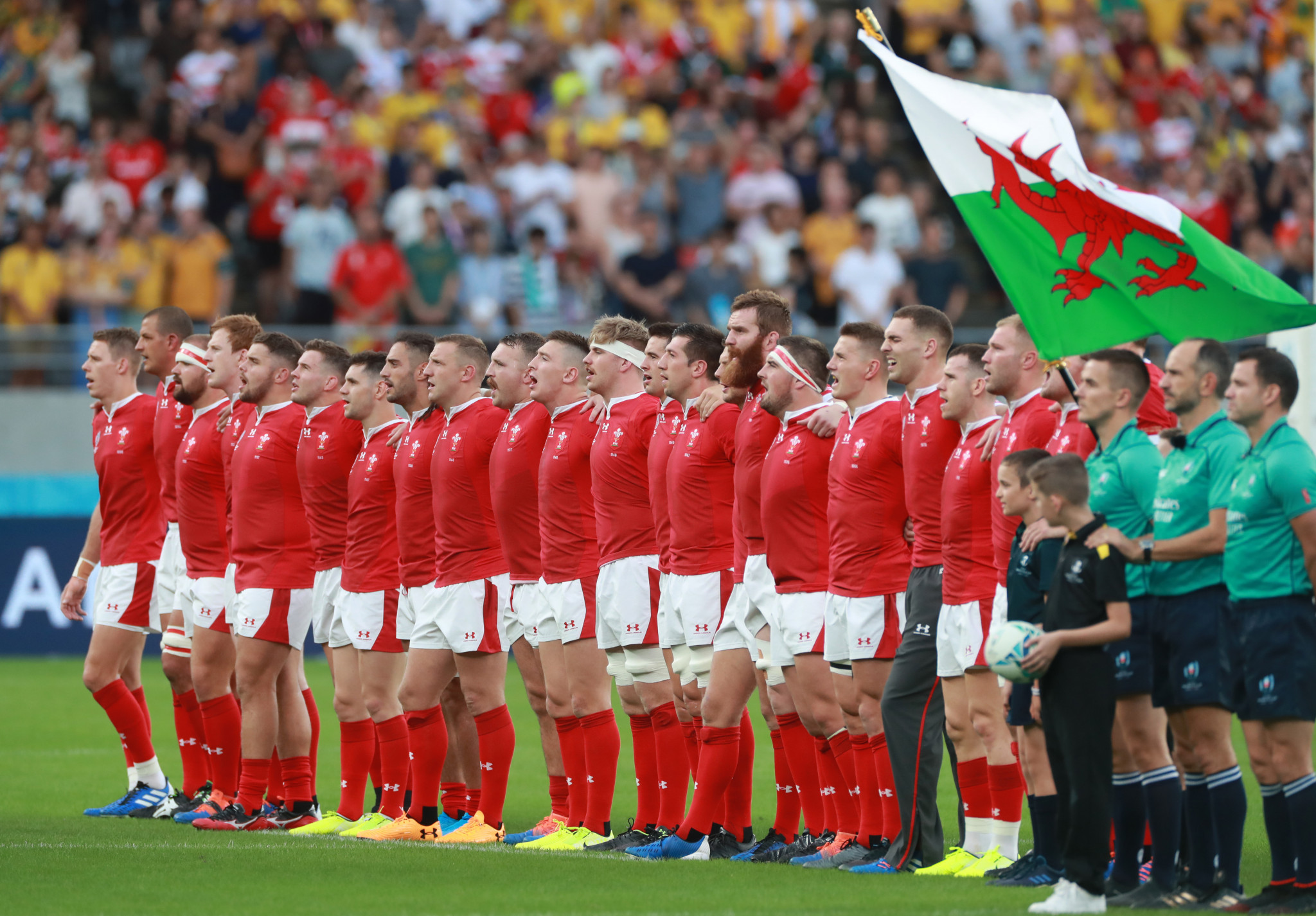 Wales seal memorable Rugby World Cup win over Australia