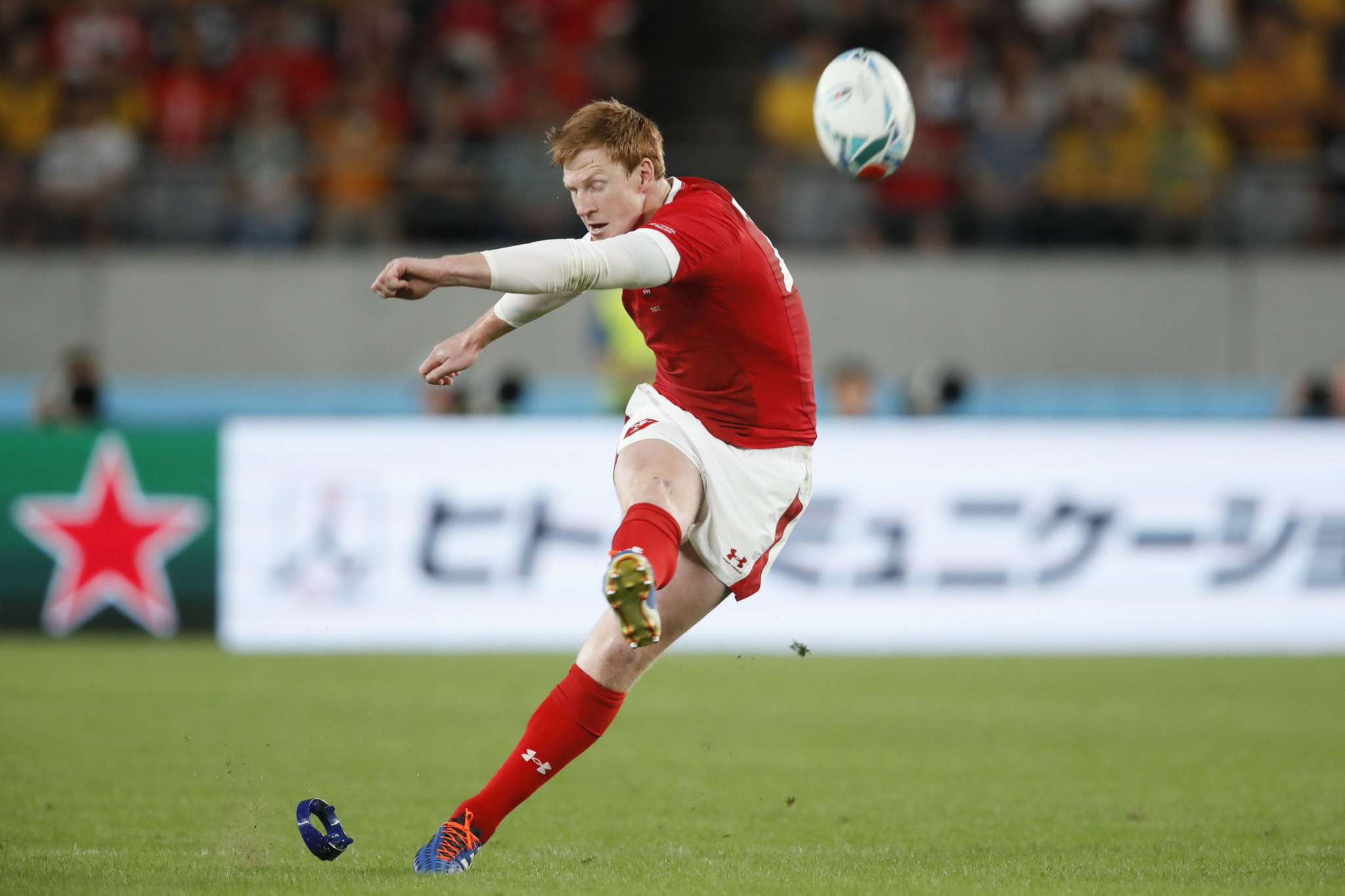 Rhys Patchell impressed with the boot and Wales hung on ©Getty Images