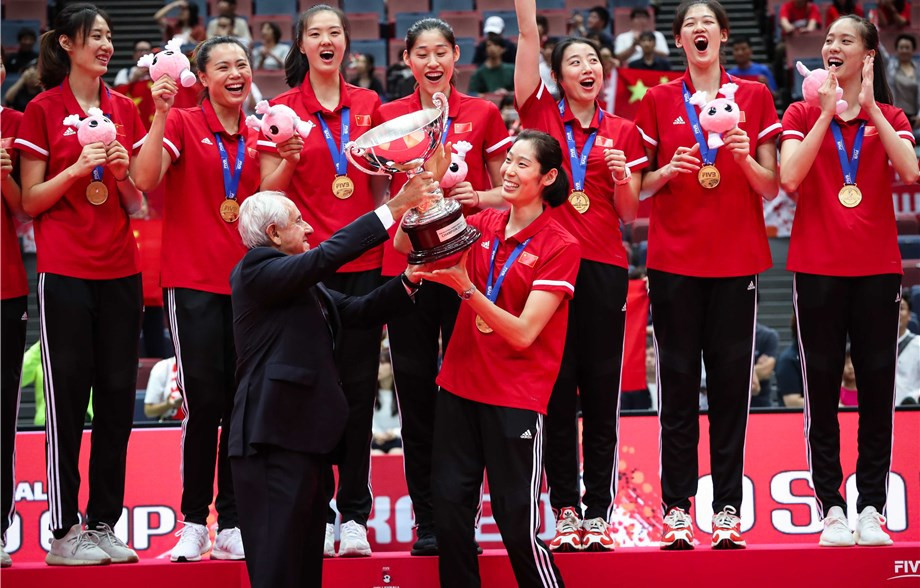Champions China end FIVB Women's World Cup with invincible record