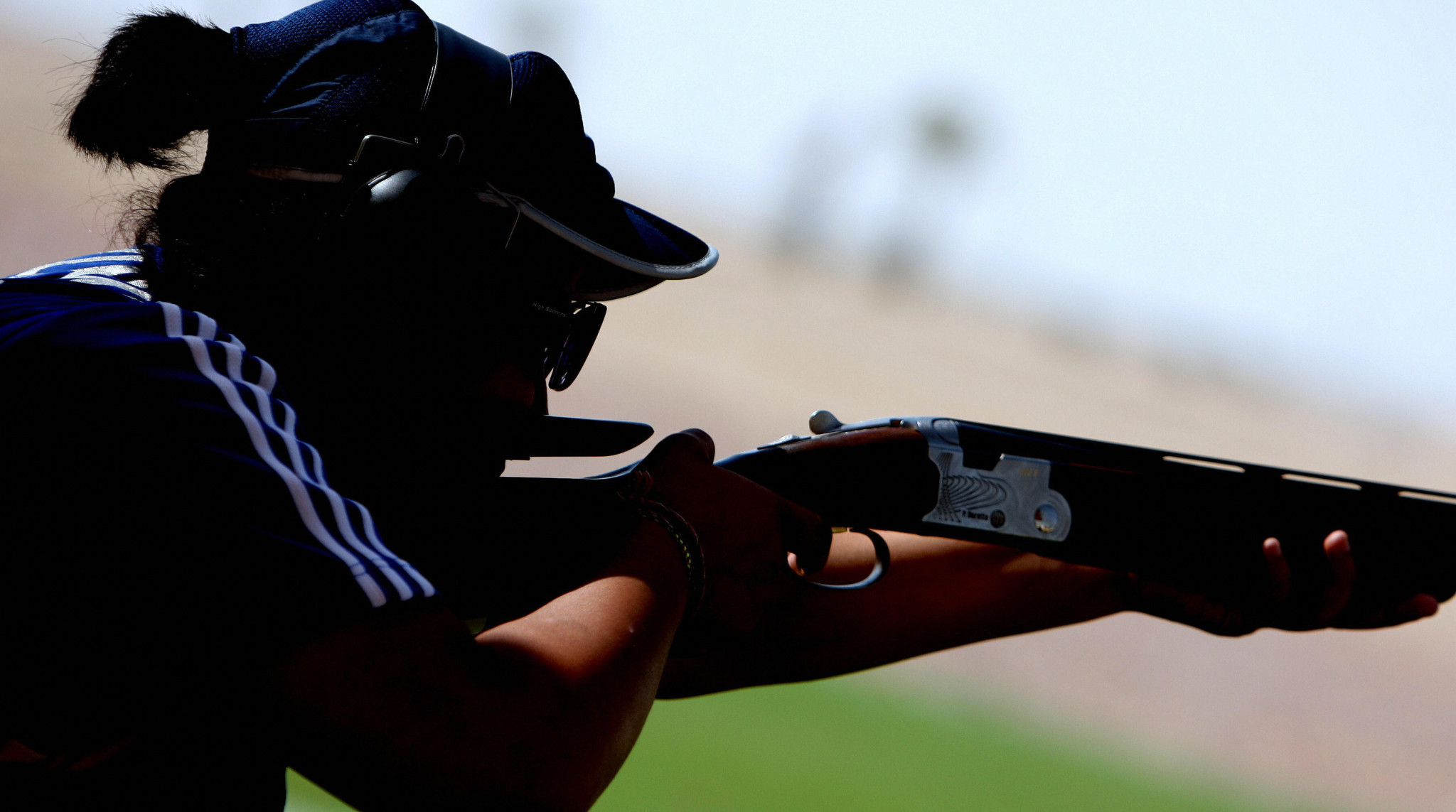 Sarah Alhawal won the women's individual trap ©Getty Images