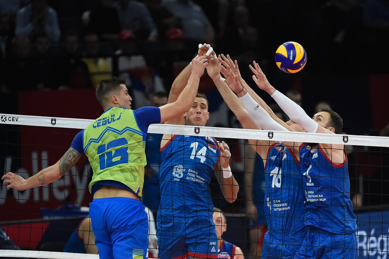 Serbia win men's European Volleyball Championship with thrilling victory over Slovenia
