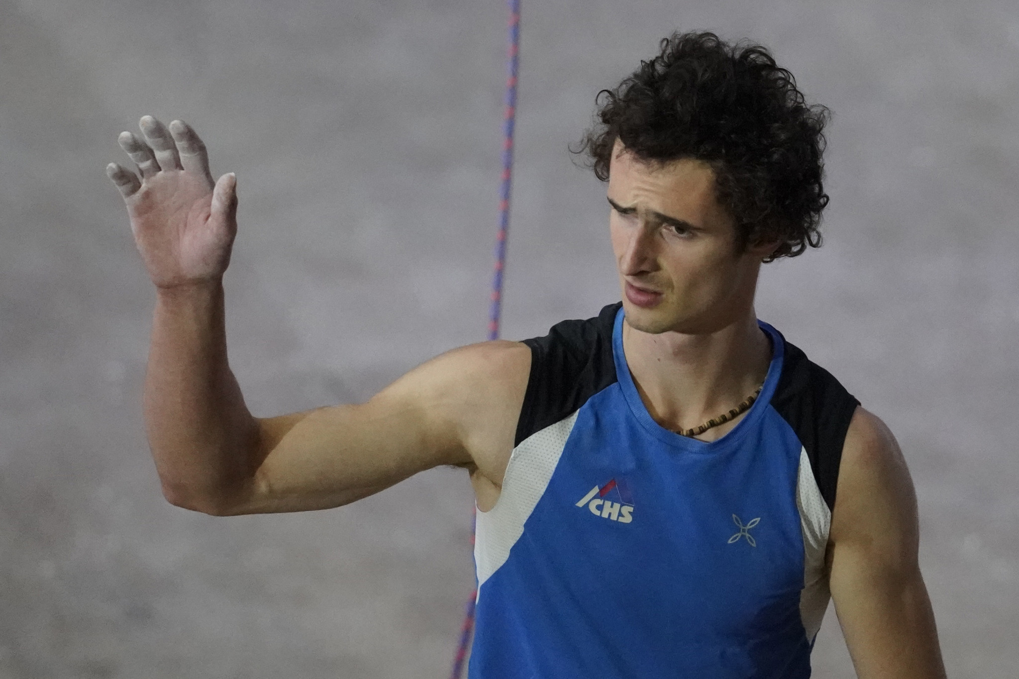 Newly-crowned lead world champion Adam Ondra proved his dominance again with victory at the IFSC World Cup in Kranj ©Getty Images