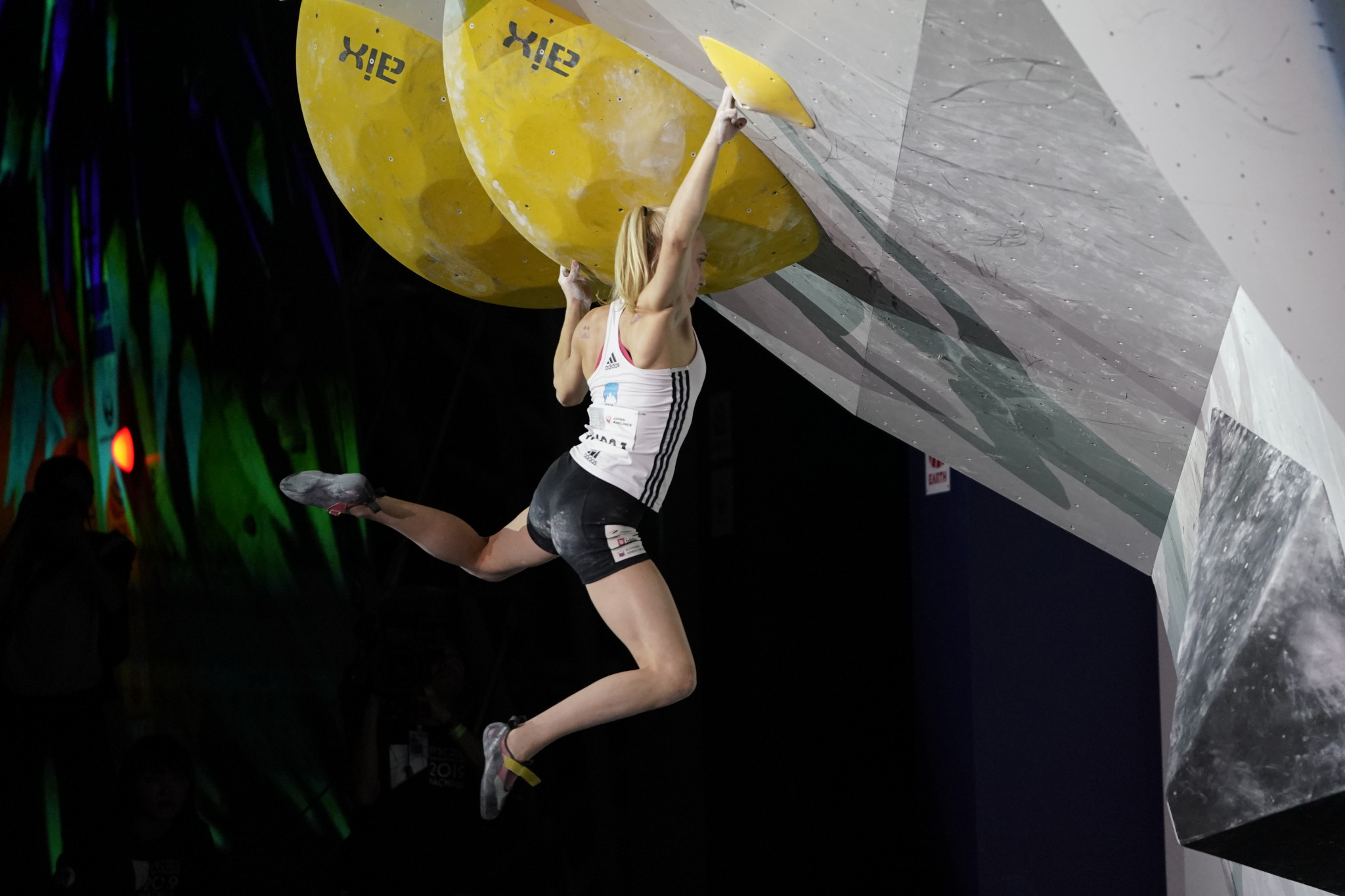 There was an upset in the women's event as Janja Garnbret failed to even reach the final ©Getty Images