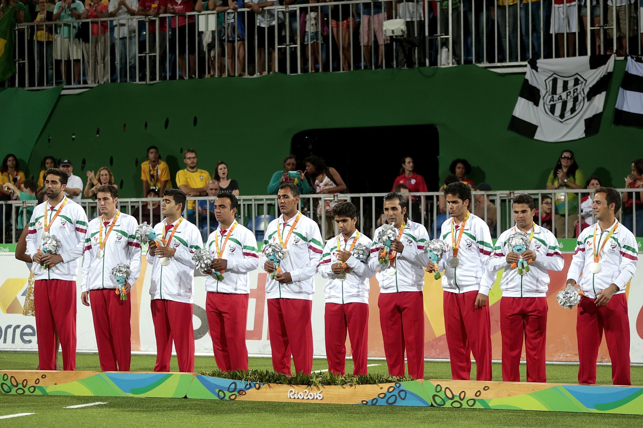 Iran won Paralympic silver at Rio 2016 ©Getty Images