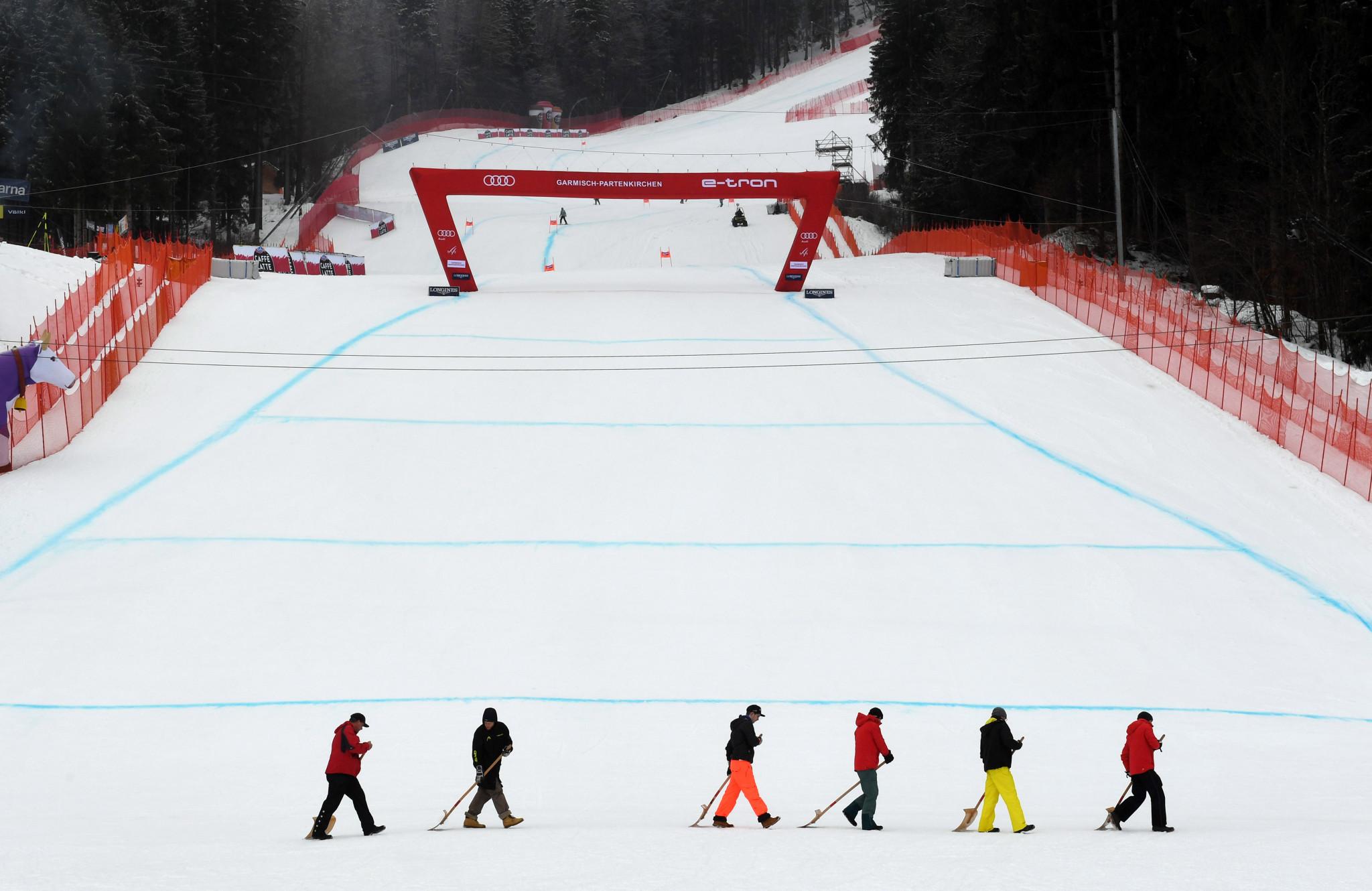 Garmisch-Partenkirchen is one of three candidates vying to host the 2025 Alpine World Ski Championships ©Getty Images