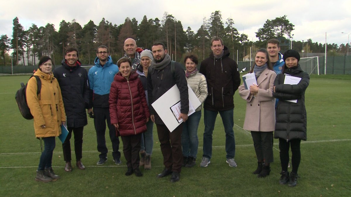 A team from FISU met the Organising Committee and inspected the current sport and hospitality infrastructure ©FISU