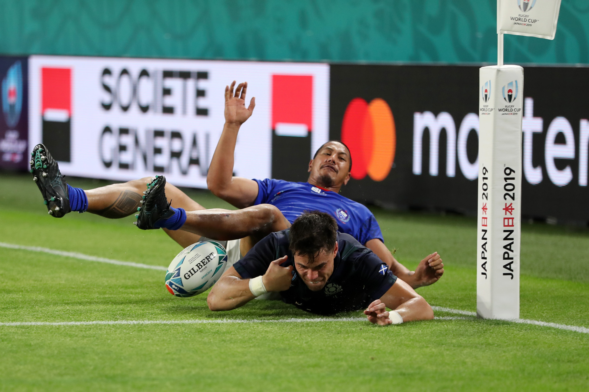 Ed Fidow of Samoa conceded two penalty tries ©Getty Images