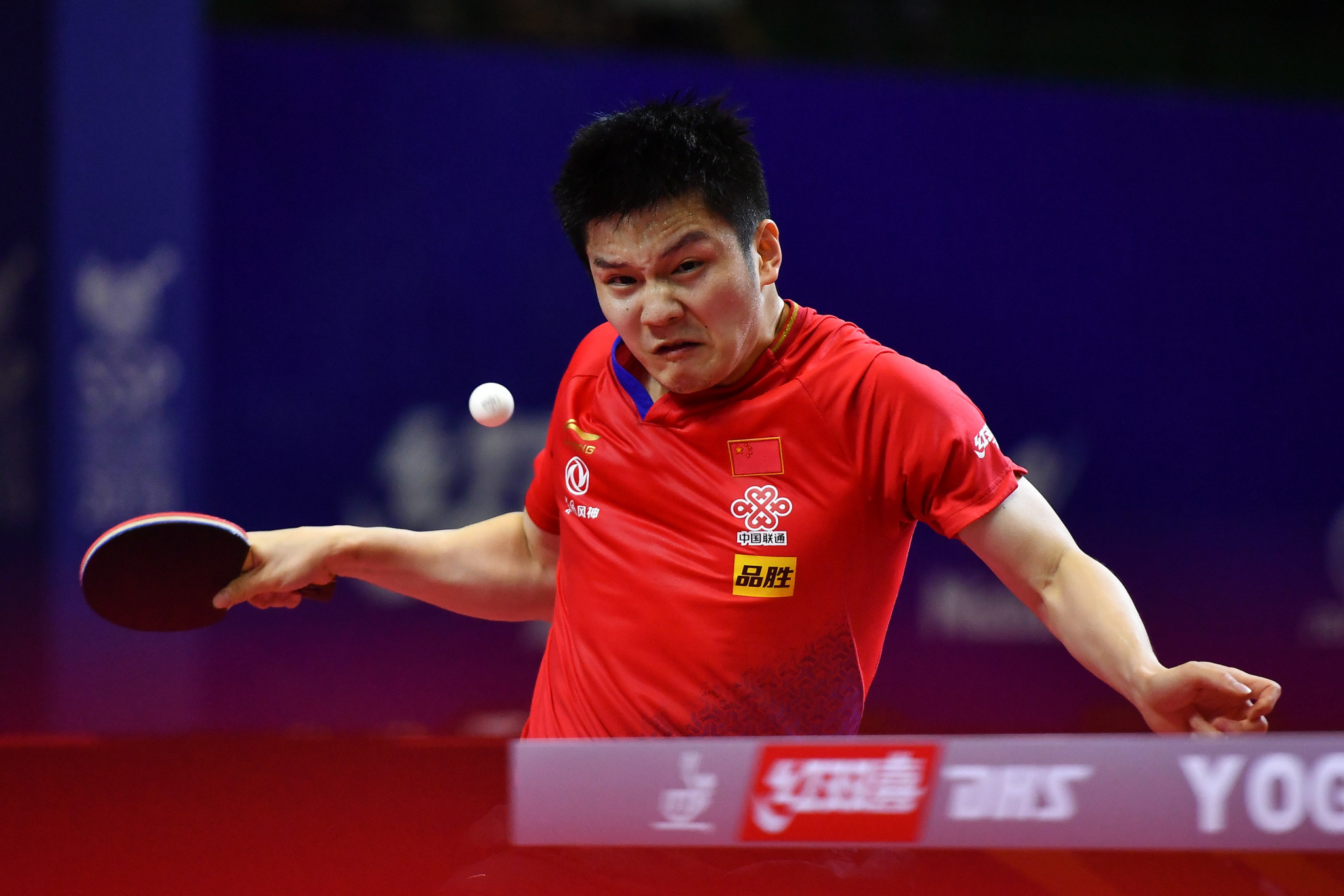 Fan Zhendong is looking for a record fourth men's singles title at the ITTF Swedish Open ©Getty Images