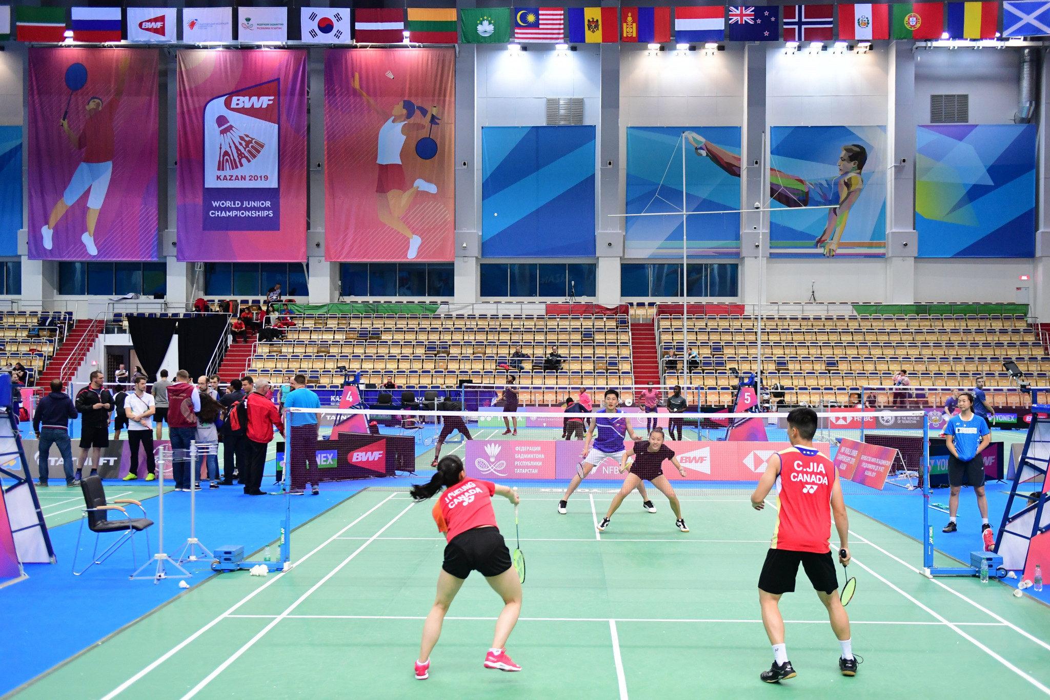 Indonesia and China make strong start to BWF World Junior Championships