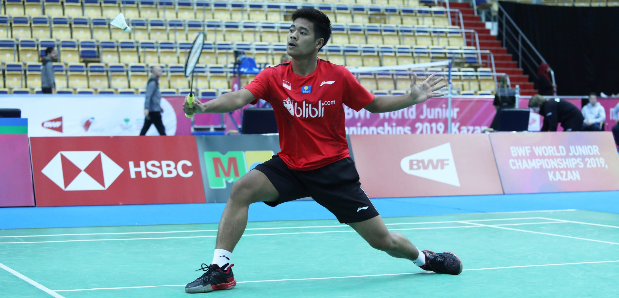 Top seeds Indonesia got off to the perfect start with a crushing 5-0 victory over Uganda ©Twitter