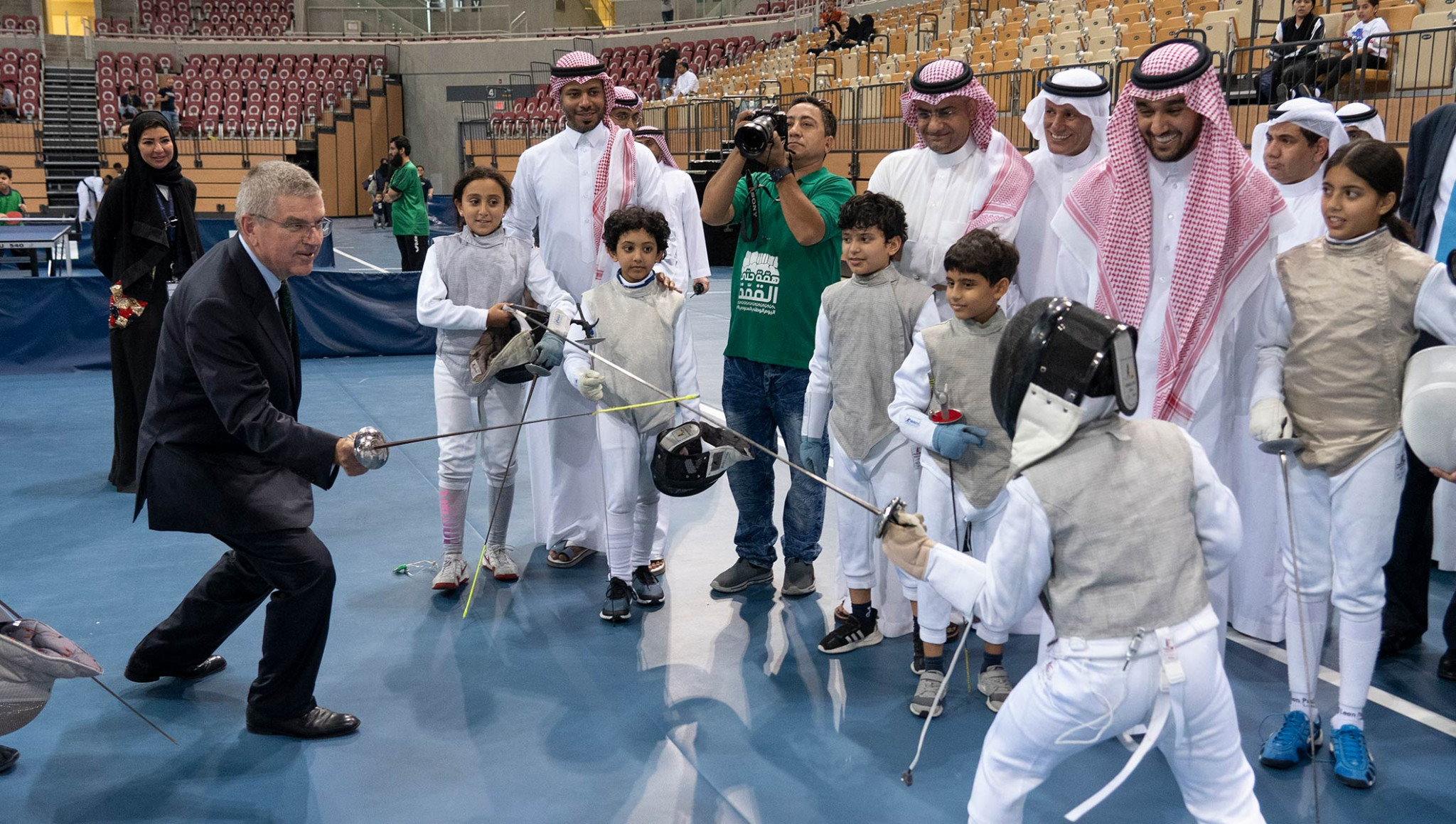 Saudi Arabia promise Bach more opportunities for female athletes