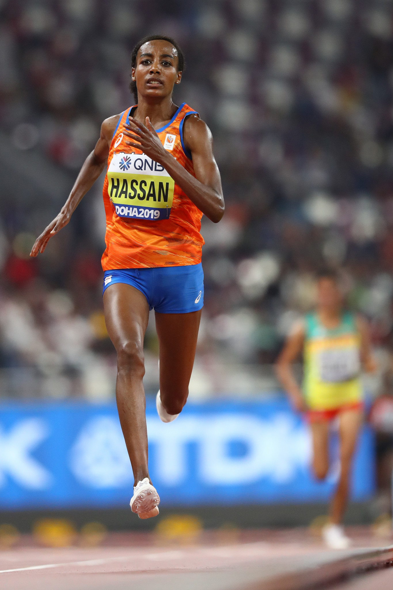 World 10,000m champion Sifan Hassan is among athletes set to receive a warning ©Getty Images