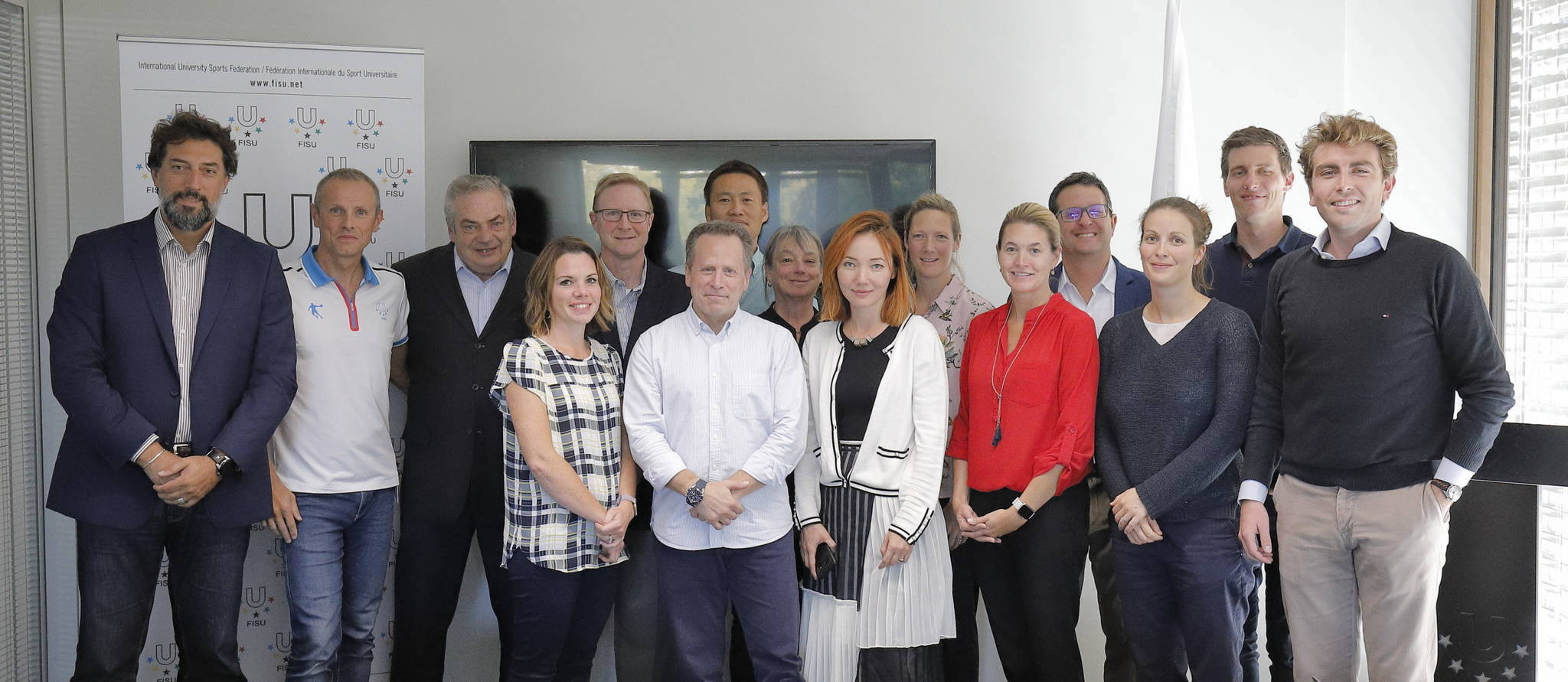 Organisers of the 2023 Winter Universiade met with the International University Sports Federation in Lausanne ©FISU