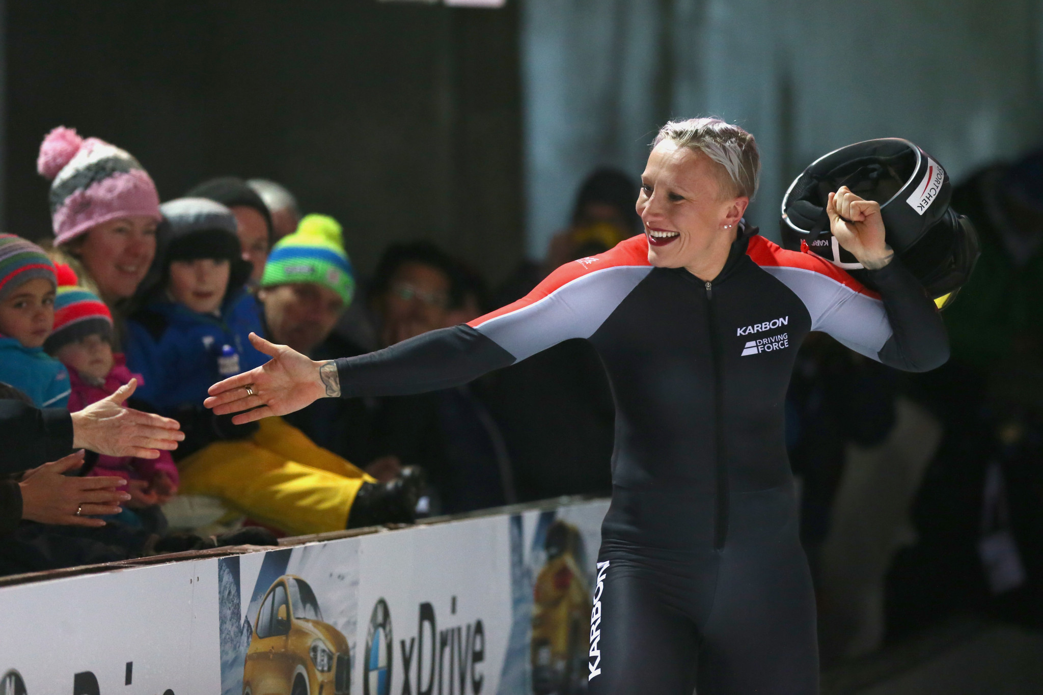 Double Olympic bobsleigh champion Kaillie Humphries says representing Canada was the greatest honour ©Getty Images