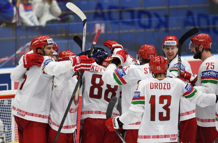 Belarus score three in five minutes to shock United States at Ice Hockey World Championship