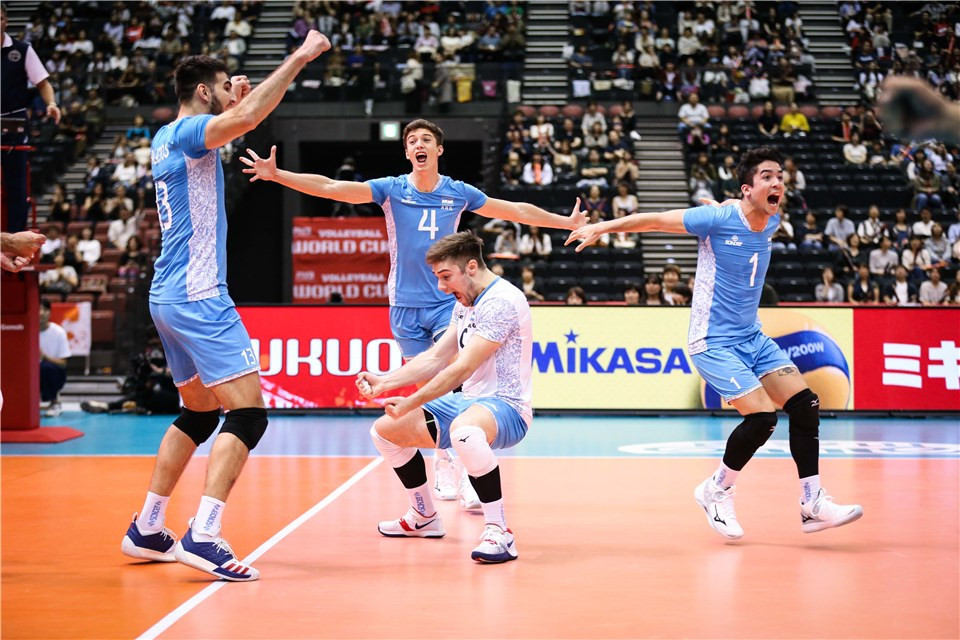 Holders United States stunned by Argentina as FIVB Men's World Cup begins