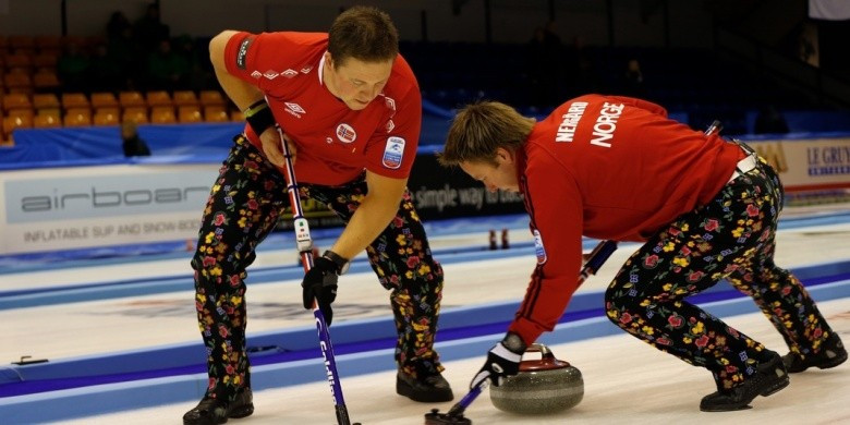 Norway stay top after maintaining winning streak at European Curling Championships