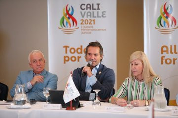 Ilic praises Cali on first visit to 2021 Junior Pan American Games host city