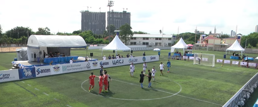 Defending champions ease to first win at Blind Football Asian Championships