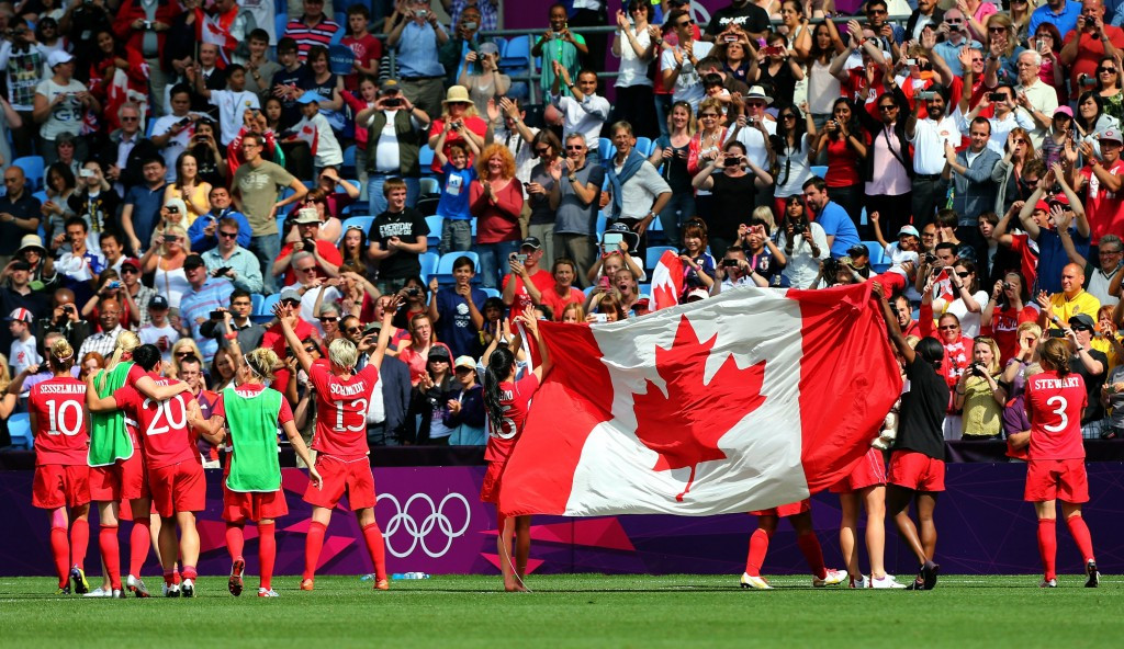 Canada earned bronze at London 2012 after beating France 1-0