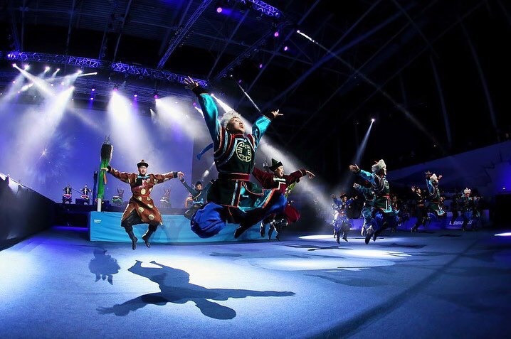 The history of the area - the Buryatia Republic - was demonstrated through dance and music ©AIBA